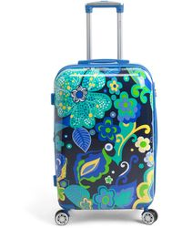 Tj Maxx 26in Floral Hardside Expandable Spinner - Blue