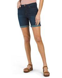 Tj Maxx Ultra Light Denim Shorts - Blue