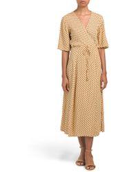 Tj Maxx - Lula Dot Rivera Midi Dress - Lyst