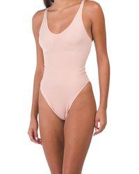 Tj Maxx The Body Toner Bodysuit - Pink