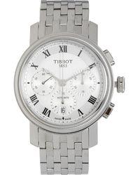 TK Maxx Tone Stainless Steel Bridgeport Chronograph Watch - Metallic