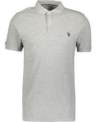 TK Maxx Pique Polo Shirt - Grey