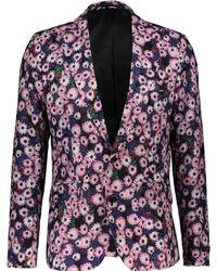 TK Maxx & Purple Floral Statement Blazer - Pink