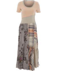 TK Maxx & Grey Patterned Maxi Dress - Pink