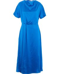 TK Maxx Royal Midi Dress - Blue