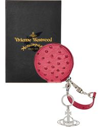 TK Maxx Leather Coin Purse - Red