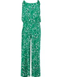 TK Maxx Patterned Jumpsuit - Green