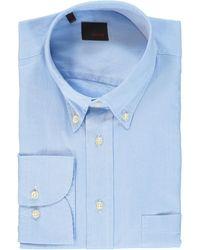 TK Maxx - Blue Slim Fit Shirt - Lyst