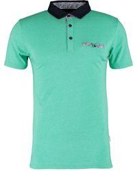 TK Maxx Light Marl Polo Shirt - Green