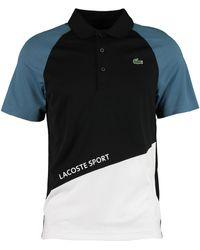 TK Maxx Black & Colour Block Polo Shirt - Blue