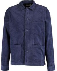 TK Maxx Cord Work Shirt - Blue