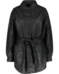 TK Maxx Mid Length Coat - Black