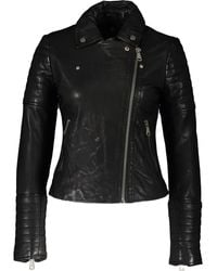 TK Maxx Leather Jacket - Black