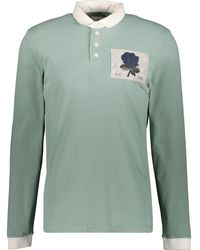 TK Maxx Mint New Stokes Rugby Top - Green