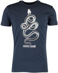 TK Maxx Snake Printed T Shirt - Blue
