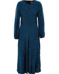 TK Maxx Cheetah Print Maxi Dress - Blue