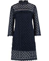 TK Maxx Floral Crochet Midi Dress - Blue