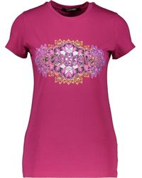 TK Maxx Printed T Shirt - Pink
