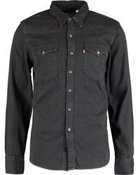 TK Maxx Western Long Sleeve Casual Shirt - Black