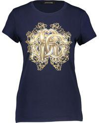 TK Maxx Printed Logo T Shirt - Blue