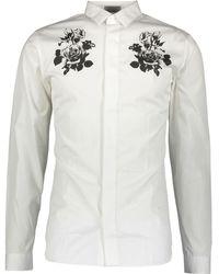 TK Maxx White Print Shirt