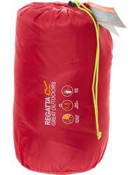 TK Maxx Hana 200 Duch Stripe Sleeping Bag - Pink