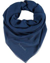 TK Maxx Silk Scarf - Blue