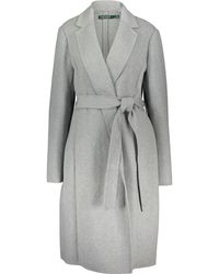 TK Maxx Wool Blend Overcoat - Grey