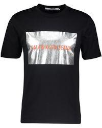 TK Maxx Graphic Print T Shirt - Black