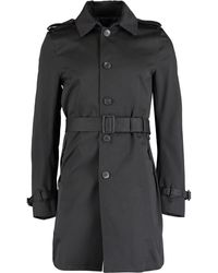 TK Maxx Belted Trench Coat - Black