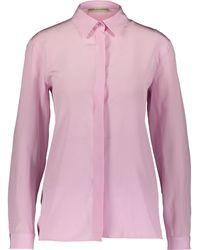 TK Maxx Silk Blouse - Pink