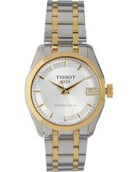 TK Maxx Silver & Tone Couturier Automatic Watch - Metallic