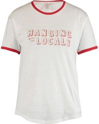 TK Maxx Hanging With The Locals T Shirt - White