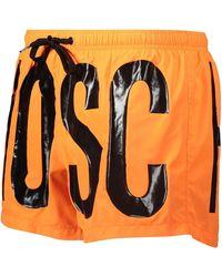 TK Maxx Logo Print Swim Shorts - Orange