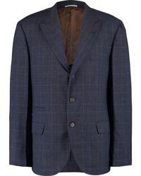 TK Maxx Wool Classic Fit Blazer - Blue