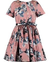 TK Maxx Floral Belted Dress - Pink