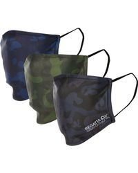 TK Maxx Three Pack Camouflage Face Coverings - Multicolour