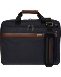 TK Maxx Convertible Brief Bag 29x41cm - Blue