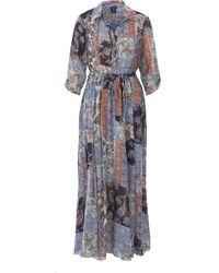 TK Maxx & Brown Floral Maxi Dress - Blue