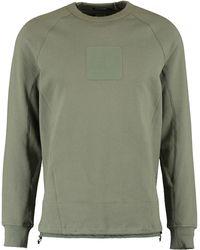 TK Maxx Olive Toggle Hem Sweatshirt - Metallic