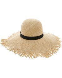 TK Maxx Natural Woven Floppy Straw Hat