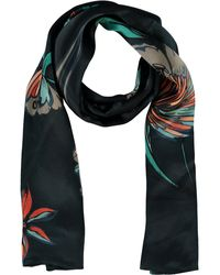 TK Maxx Floral Print Silk Scarf - Multicolour