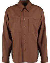 TK Maxx Wool Shirt - Brown