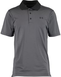 TK Maxx Grey & Striped Polo Shirt - Black