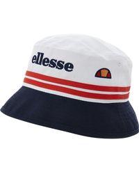 TK Maxx & White Bucket Hat - Blue
