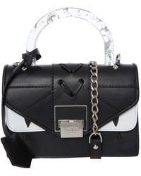 TK Maxx Clear Handle Crossbody Bag - Black