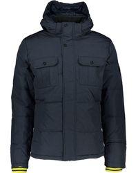 TK Maxx Hooded Puffer Coat - Blue