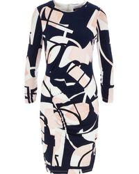 TK Maxx - White & Pink Mosaic Midi Dress - Lyst