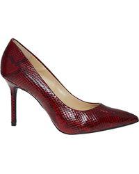 TK Maxx Reptile Effect Heels - Red