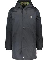 TK Maxx Hooded Longline Jacket - Black